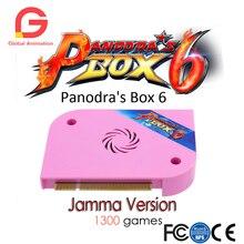 1300 dans 1 Pandora Boîte 6 jamma conseil HDMI VGA CGA Pour arcade machine Peut ajouter supplémentaire 3000 jeux Soutien FBA MAME PS1 jeu 3D jeu