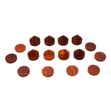 8pcs 23mm Rosewood Speaker Shock Spike Brown Isolation Cone Stand Feet + Base Pad + Self-adhesive Film For Audio CD Player legacy audio silverscreen hd rosewood
