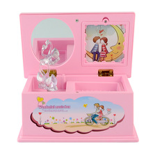 Hand Crank Musical Box Girls Music Box w