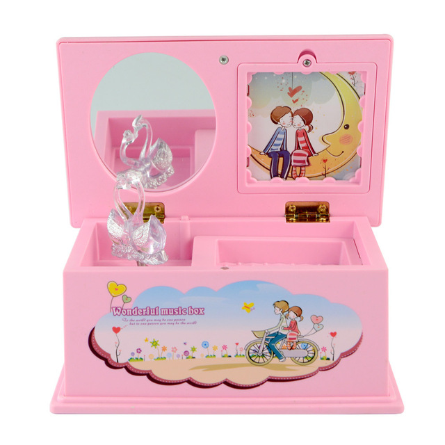 Lovely Hand Crank Music Box Gift Boxes Music Jewelry Box Kids