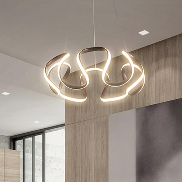 Coffee or White Finished Modern led Pendant Lights For Living Room Dining Room etc 110-220V Deco Pendant Lamp