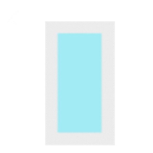 Profesyonel tüy Dökücü Çift Taraflı Soğuk Balmumu Şeritler Kağıt Bacak Vücut Yüz Yaz Yeni Sıcak Satış 10 Adet/ 5 yaprak