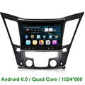 Quad core  2 Din  Android 6.0 CAR DVD GPS PLAYER  FOR Hyundai sonata 8 YF I40 I45 I50 2011 2012 2013 2014 2015 WIFI mirror link