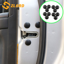 Car Door Screw Protection Cover for Ford Mondeo/Focus/Fiesta/Kuga/Escort/Taurus/EcoSport/Mustang/S-Max/Edge Parts(China)