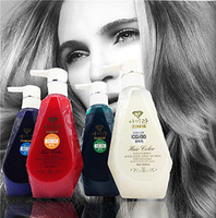 Free shipping professional salon hair color permenant dye cream 18 colors 300ml