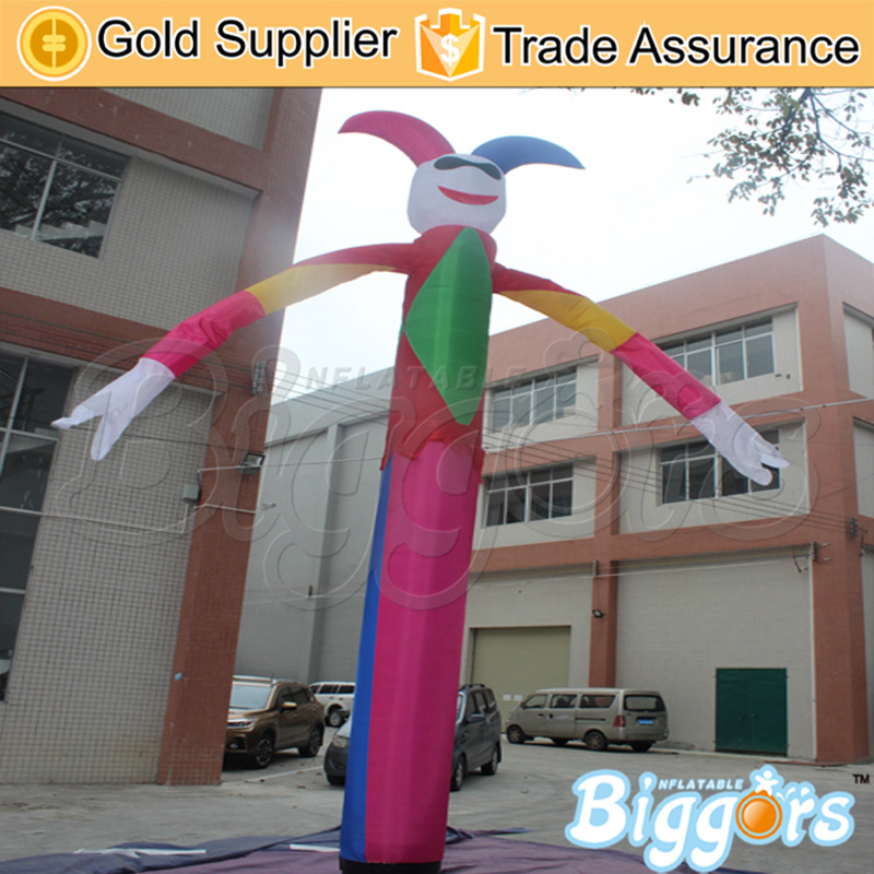 16.4ft Height Cheap Price Single Leg Gonflables Sky Dancer Inflatable Air Dancer Come With Air Blower цена и фото