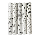 Baby Blanket Cotton Muslin Baby Swaddles For Newborn Baby Blankets Black & White Gauze Bath Towel Bamboo Cotton Blanket
