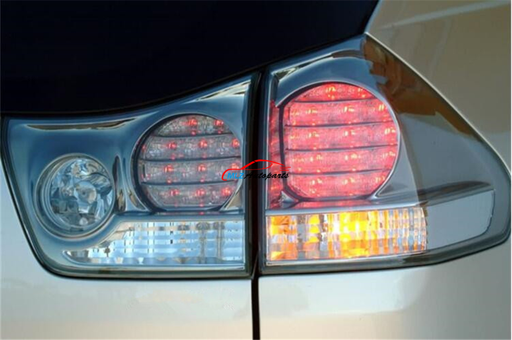 Car Trunk Tail Lamp Rear Light LED Day Running Light Signal Brake Reverse For Lexus RX RX330 RX300 RX350 Harrer 2003 - 2008 car styling tail lights for toyota highlander 2015 led tail lamp rear trunk lamp cover drl signal brake reverse