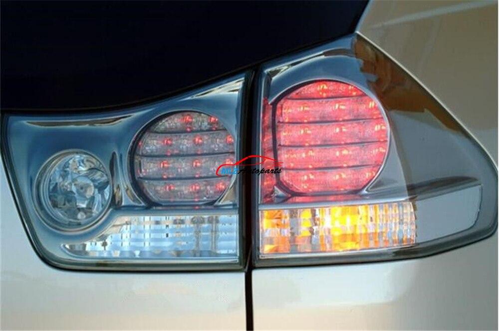 Voiture Tronc Queue Lampe Arrière Lumière LED Jour Running Light Signal De Frein Inverse Pour Lexus RX RX330 RX300 RX350 Harrer 2003-2008