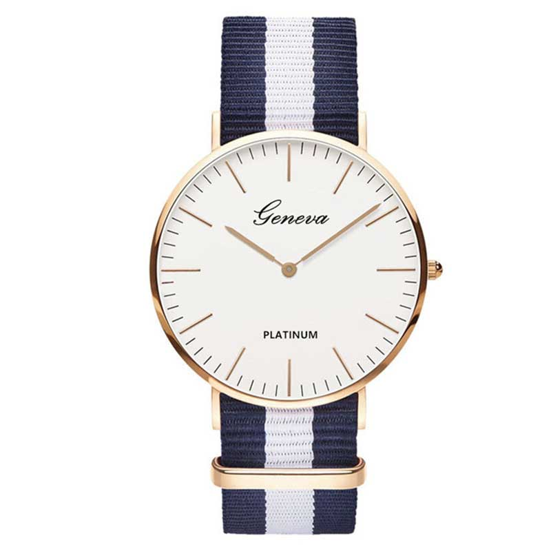 Sale Nylon Strap Style Quartz Women Watch    Watches Casual Wrist Watch Relojes