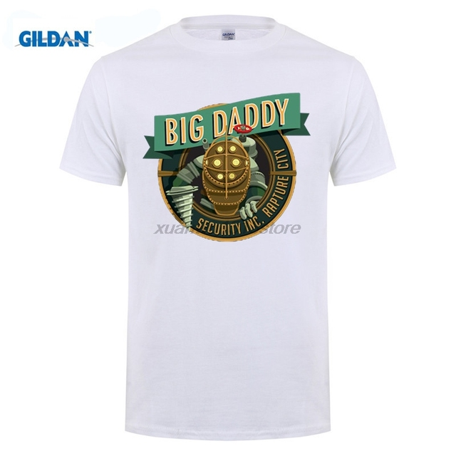 US $21 99 |GILDAN Custom Tee Shirts Near Me Big Daddy Bioshock Rapture  Elizabeth Video Game Inspired New Mens ummer Tops Casuals Shirts-in  T-Shirts