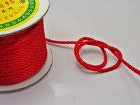 25 Meter Red Nylon Love Rope Binding Bind Up Synthetic Silk String 3mm