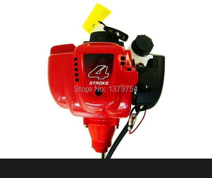 6 in 1 Decespugliatore a gas a 4 tempi GX35 Motore Strimmer per - Attrezzi da giardinaggio - Fotografia 3