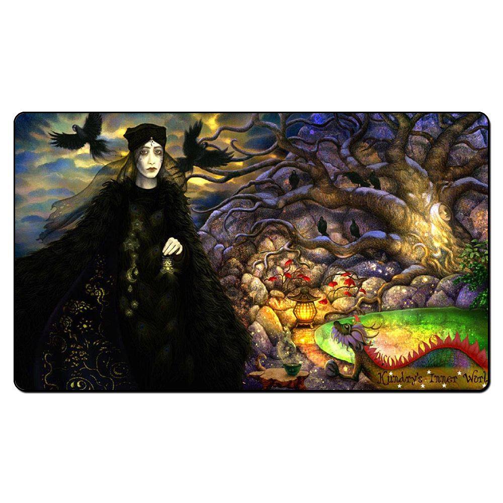(Kundrys Inner World) Board Games Playmats, Magical Card The Games Game Pad Play Mat, Custom Design With Free Gift Bag