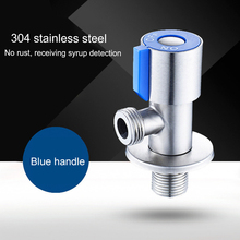 Angle Valves 304 Stainless Steel Brushed Finish Filling Valve Bathroom Accessories Angle Valve For Toilet Sink stainless steel sign grade 304 with brushed finish mounted with mounting spacers