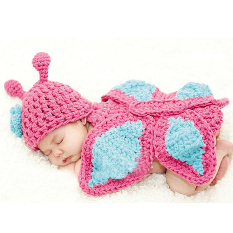 Hat Crochet Butterfly