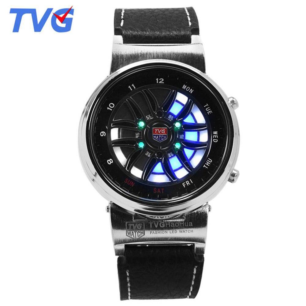 Top Brand TVG Ρολόγια Ανδρών Δημιουργική - Ανδρικά ρολόγια - Φωτογραφία 3