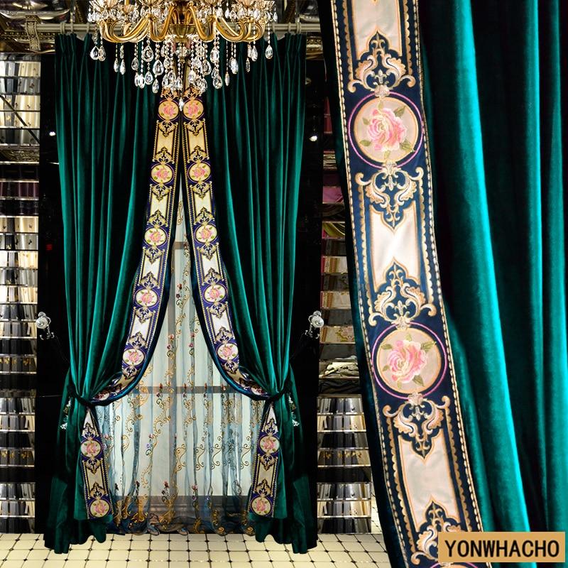 Aliexpress Com Buy Custom Curtains Bedroom European