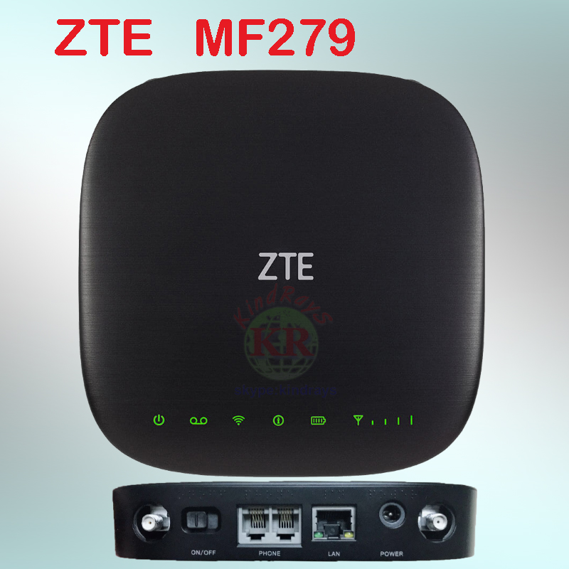 Unlocked Zte Mf279 Lte Router Cat6 AT&T Wireless Internet Portable Smart Home Hub 4G Sim Router Support VoLTE Router 4g Sim Card