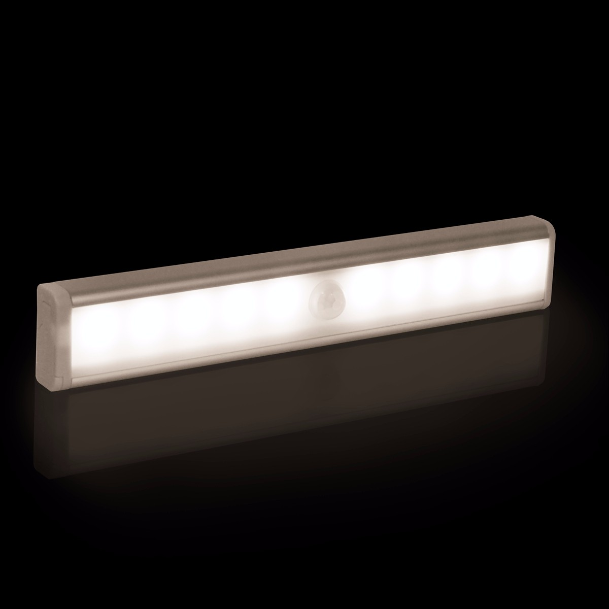 Useful Mini10LED Motion Sensor Night Light Closet Light Battery Powered Wireless Cabinet IR Infrared Motion Detector Wall Lamp