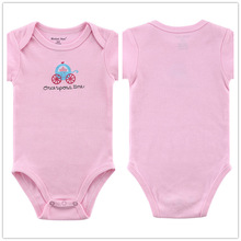 Autumn 1 Piece Cotton Style Baby Girl Boy Winter Clothes New Born Body Baby Ropa Character Pink Next Baby Bodysuit r015
