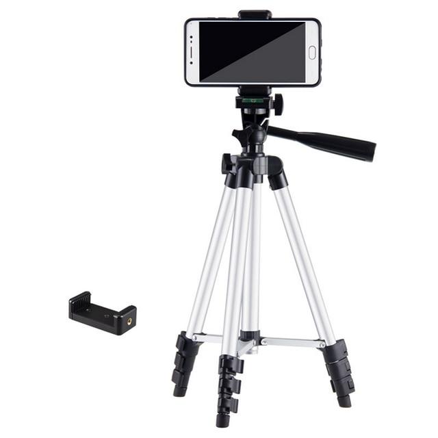 7e8f06000df 150cm Smartphone Camera Tripod with Phone Holder Portable Tripod Camera  Stand Monopod Tripod For DSLR Camera Mobile Phone Tripod