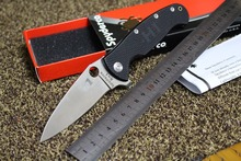 H1 57HRC 8cr13mov blade G10 handle  folding knife hunting outdoor camping knife survival tactical knive EDC hand tools