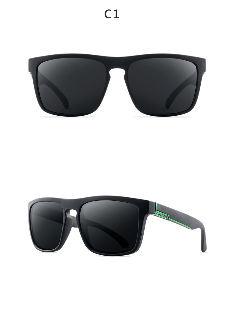 ASUOP 2019 new square polarized ladies sunglasses UV400 fashion men's glasses classic brand designer sports driving sunglasses (8)