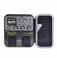 NUX MG 100 Guitar Modeling Processor Multi function Guitar Effect Pedal with 58 Effect Models Guitar Parts