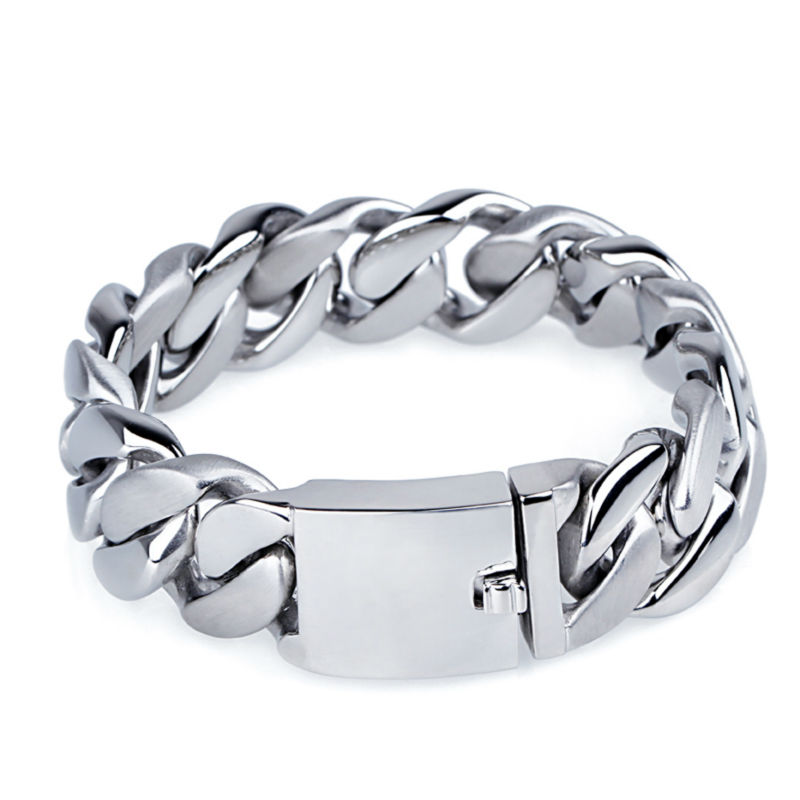 beautiful designs and patterns big heavy men titanium fashion jewelry silver color bracelet morris william full color patterns and designs