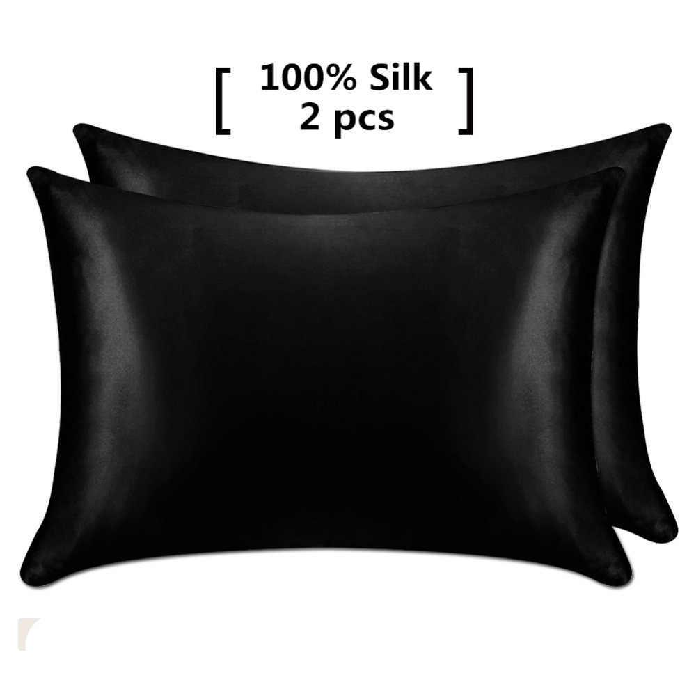 Lilysilk Pure 100 Silk Pillowcase Hair With Hidden Zipper