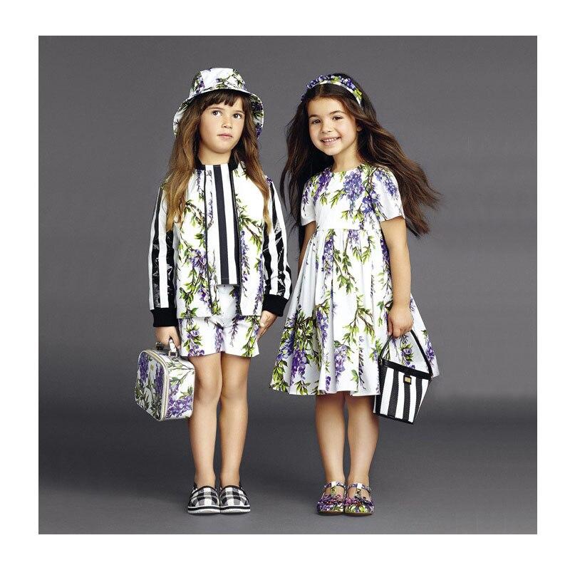 Toddler Girl Dress Fashion Disfraz Princesa Spring Summer Princess Dress Girl Designer Floral Toddler Girl Dress toddler тарелка