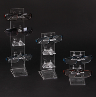 L Shaped Sunglasses Eyeglasses Spectacles Display Holder Stand Frame Organizer