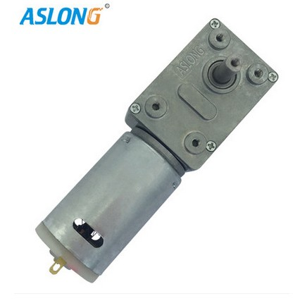 JGY-395 DC worm gear reduction motor square gear box motor6-12V
