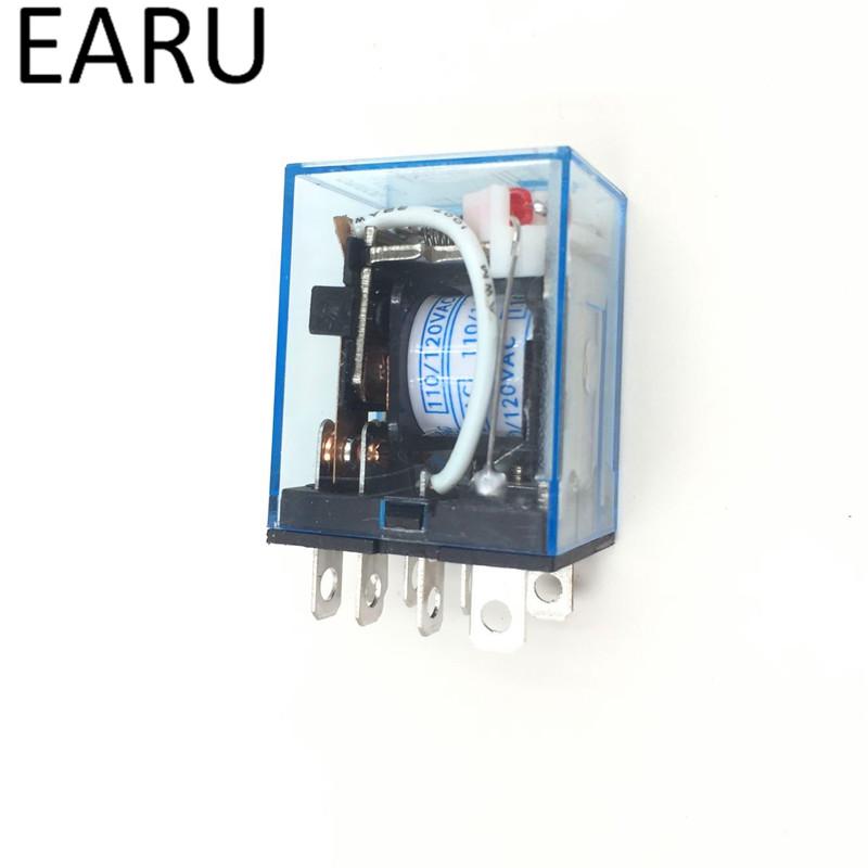 HTB1KAcYPVXXXXaHXVXXq6xXFXXXV - Free Shipping 1Pc LY2NJ HH62P HHC68A-2Z Electronic Micro Mini Electromagnetic Relay 10A 8PIN Coil DPDT DC12V,24V AC110V 220V Hot