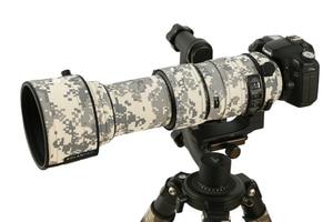 Image 5 - ROLANPRO Waterproof Lens Camouflage Coat Rain Cover for Sigma 60 600mm f4.5 6.3 DG OS HSM Sport Lens Protective Case Guns Cloth