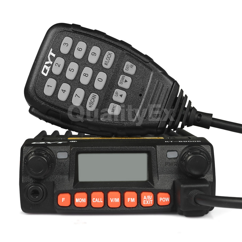 QYT KT-8900R Mobile Radio Tri Band 136-174MHz/240-260MHz/400-480MHz Transceiver KT8900R Programming Cable Cooling FanQYT KT-8900R Mobile Radio Tri Band 136-174MHz/240-260MHz/400-480MHz Transceiver KT8900R Programming Cable Cooling Fan
