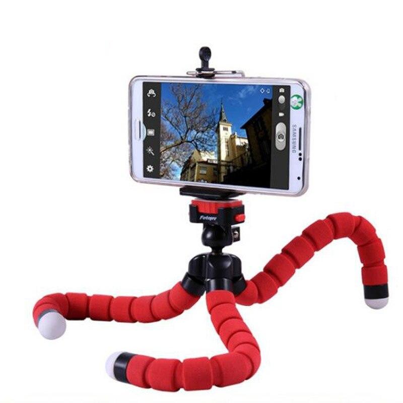 Car Phone Holder Flexible Octopus Tripod Bracket Selfie