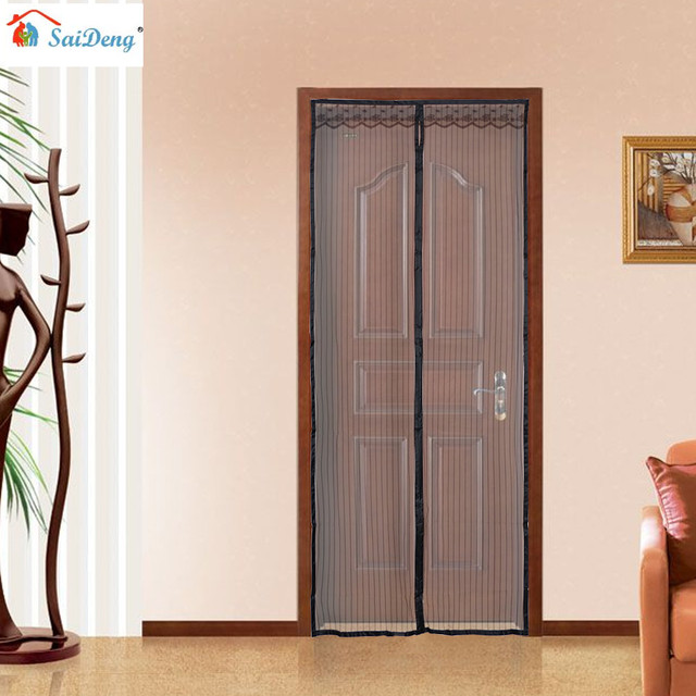 SaiDeng Upgraded 100*210cm Hands-Free Magnetic Screen Door Anti Mosquito Net Curtains & SaiDeng Upgraded 100*210cm Hands Free Magnetic Screen Door Anti ... pezcame.com