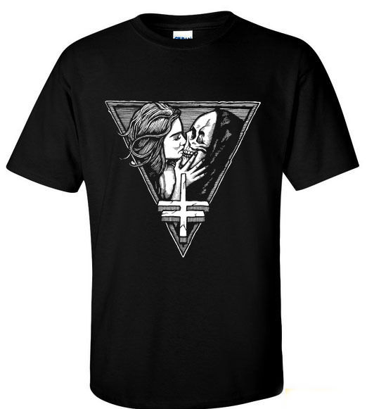 Casual Brand Clothing Cotton Hot Twitching Tongues T Wormed Sword Skeletonwitch Disgrace Men Short O-Neck Tee Shi