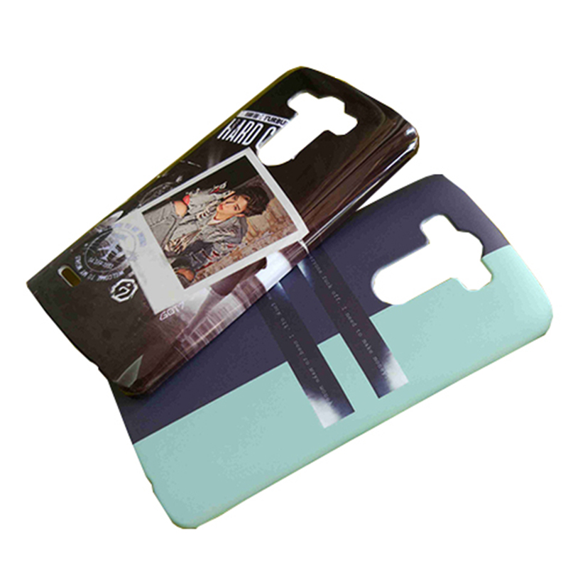 För LG G6 G5 G4 G3 G2 telefonfodral anpassad 3d full täckt plast - Reservdelar och tillbehör för mobiltelefoner