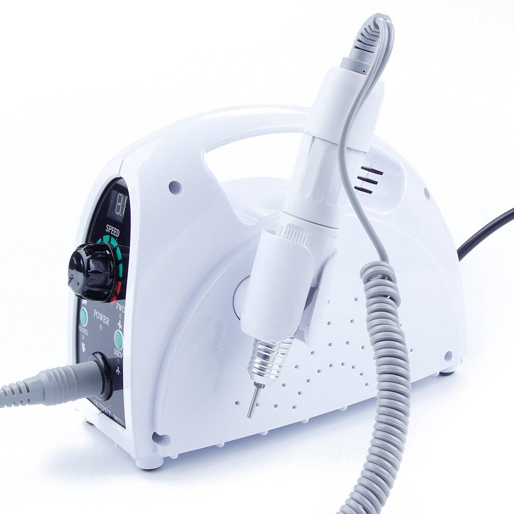 35000 rpm Nail Électrique Appareil pour Manucure Cuticules Remover Fraises pour Manucure Nail Art Outils Nail Conseils Fraisage Machine