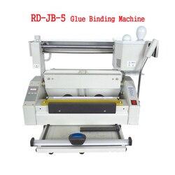 RD JB 5 topi się maszyna do klejenia do tworzenia broszur pulpit klejenie książki bindownica klejenie książki maszyna do bindowania 110 V/220 V 1pc w Bindownice od Komputer i biuro na