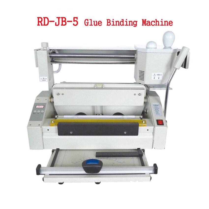 booklet maker rd jb 5 hot melt cola maquina vinculativo cola desktop livro maquina obrigatoria da
