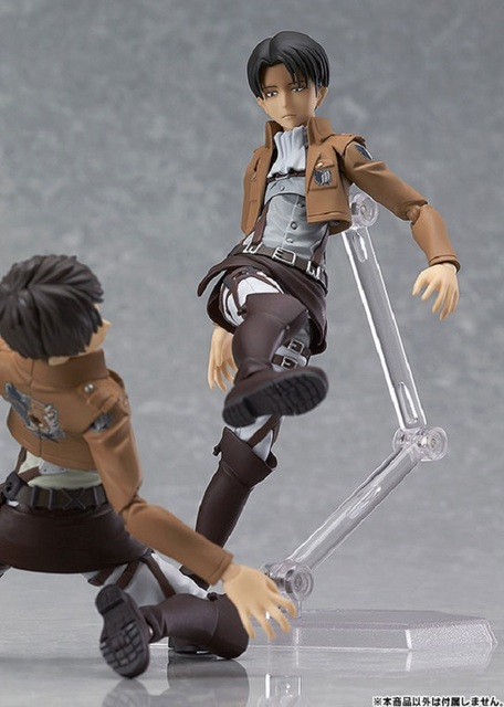 AoT Action Figure Models (3 Characters) (15 CM)