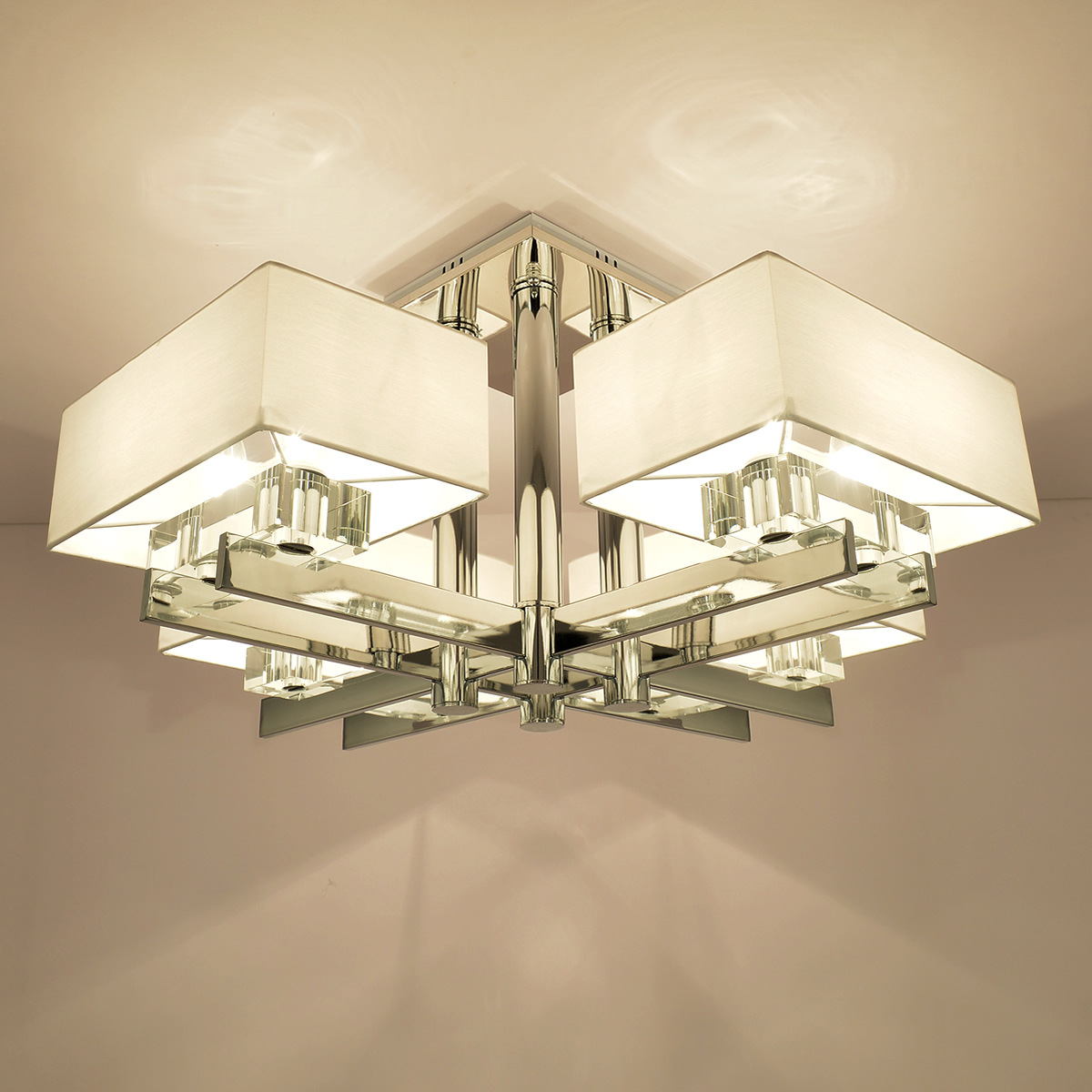 (EICEO) LED svjetiljka za dnevnu sobu Moderni jednostavan kristalni - Unutarnja rasvjeta - Foto 4