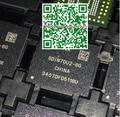 5 unids/lote sdin7du2-8g emmc memoria flash chip con firmware para samsung s3 mini i8190