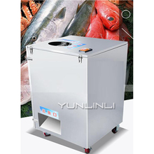 1500W 220V/380V Automatic Double Slot Fish Killing Machine Scraping Scale And Gutting Fish Fish Processing Device XZ-017