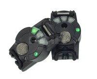 מכשיר העברת קול הופעל תגובה 3 מצבים FMA עבור אביזרי קסדה באופן חיצוני צבא שווי, Airsoft טקטי צבאי