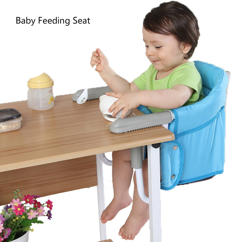 Baby Feeding Chair Portable Infant Seat Dining Lunch Chair Seat Folding Chair Feeding Highchair Seat for Baby portable baby high chair booster seat kid infant baby dining lunch feeding chair plastic chair folding seggiolone portatile baby